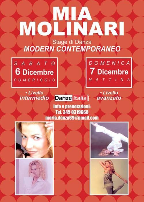 Stage Mia Molinari