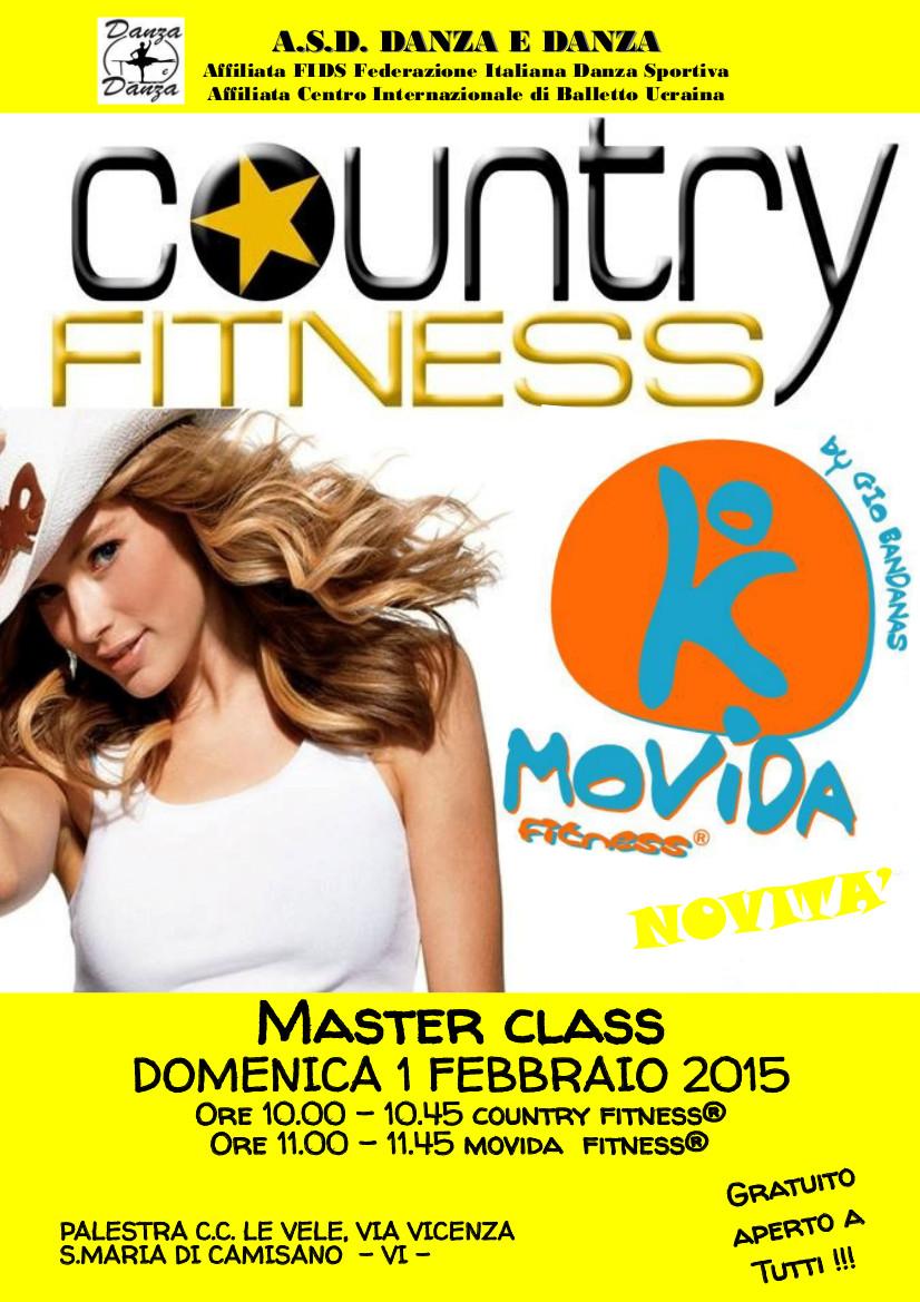 Masterclass COUNTRY FITNESS® e MOVIDA FITNESS®