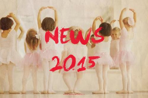 Grandi novità per il 2015!