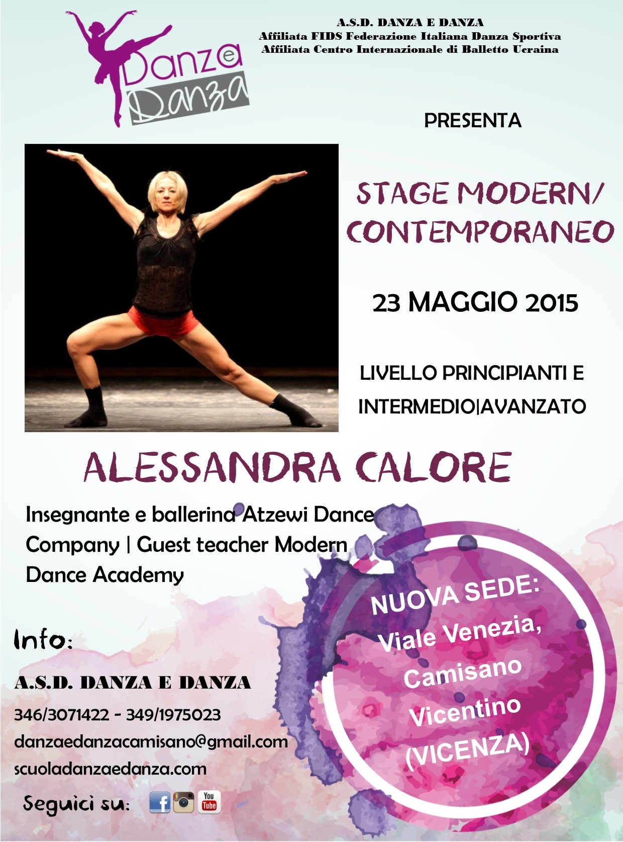 Stage modern con Alessandra Calore