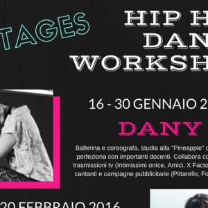 Hip Hop Dance Workshop 2016