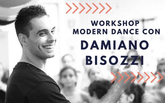 Workshop Modern Dance con Damiano Bisozzi
