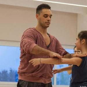 Foto Stage modern dance con Damiano Bisozzi 2016