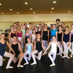 Allieve allo stage Jesolo Dance Festival 2017