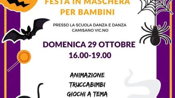Festa di Halloween per bambini a Camisano Vicentino