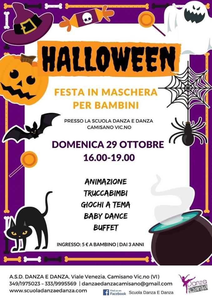 Estremamente Festa di Halloween per bambini a Camisano Vicentino - Danza e Danza PE73