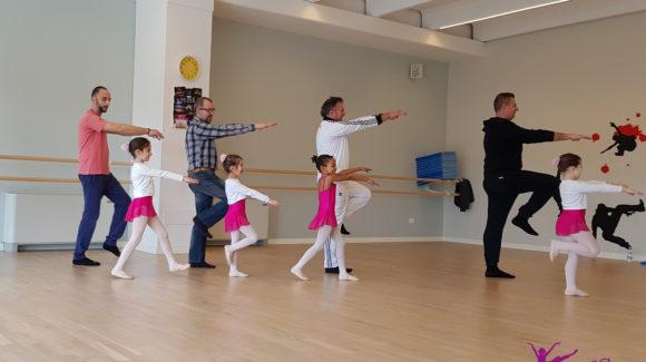 A danza con Papà 2018 – piccole ballerine ballano con il loro papà