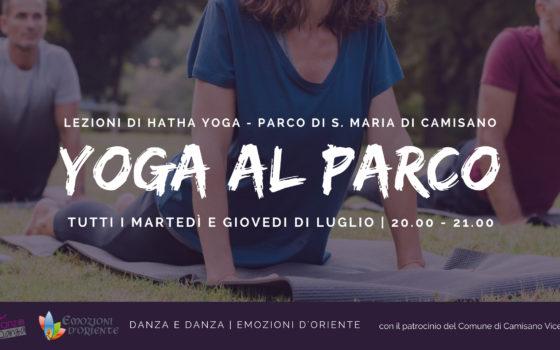 Yoga al Parco a Camisano Vicentino | Luglio 2018