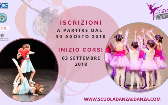 Iscrizioni | Inizio Anno Accademico 2018/2019