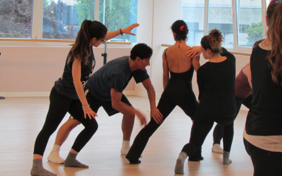 Video Stage danza moderna con M°Alex Atzewi