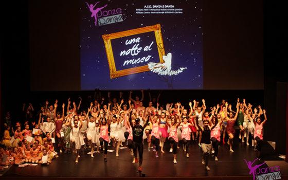 """""""Una notte al museo"""" Foto Saggio 2015 Danza e Danza"""