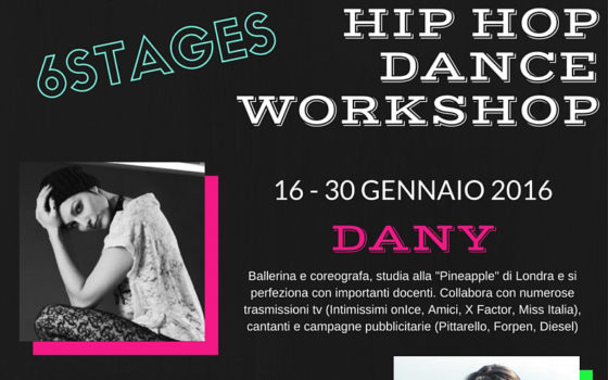 Hip Hop Dance Workshop 2016