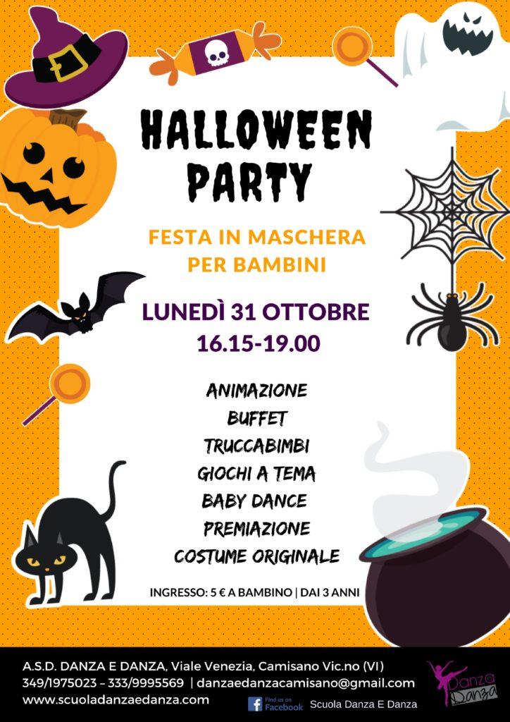 halloween party danza e danza