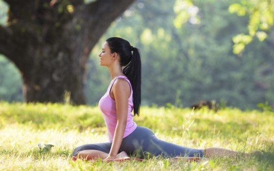 Yoga al parco a Camisano Vicentino