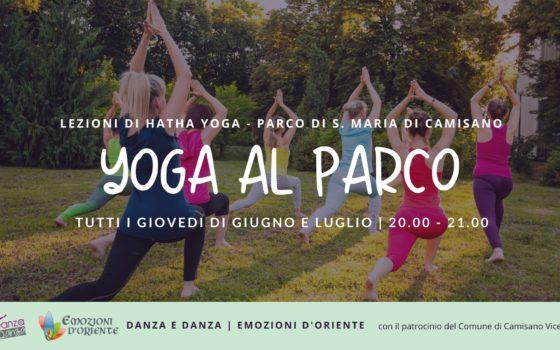 Yoga al Parco a Camisano Vicentino – Estate 2020
